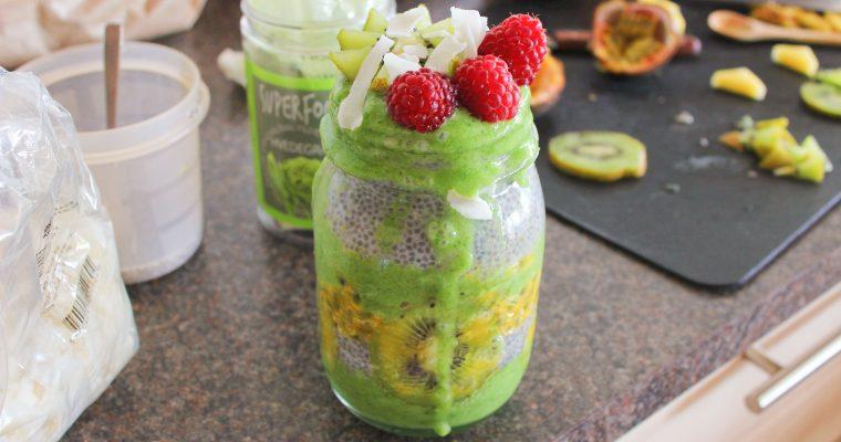Epic Green Coconut Breakfast Jar
