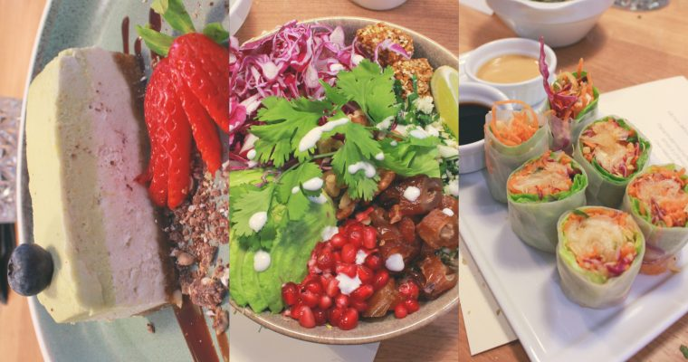 Dining Week » 3 Course (Partly Raw) Vegan Menu At simpleRAW