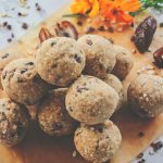Vanilla Chocolate Chip Cookie Dough Balls