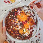 Orange Chocolate Oatmeal