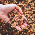 spiced pumpkin granola