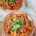 Sun-Dried Tomato Roasted Red Pepper Pasta